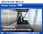 Swiss Metal Assets appears on Deutsche Welle Television Show